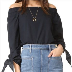 Nwt Free People Show Me Some Shoulder Blouse